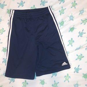 Addidas blue gym shorts. Like New Condition.